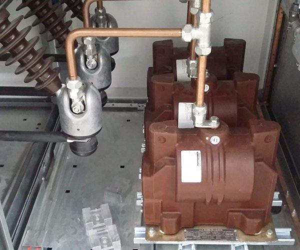 Empresa de montagens industriais – entrada de alta tensão em substação | Kabelweg Engenharia – KWE
