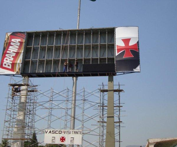 Sistema spda para painel eletrônico, Rio de Janeiro | Kabelweg Engenharia - KWE