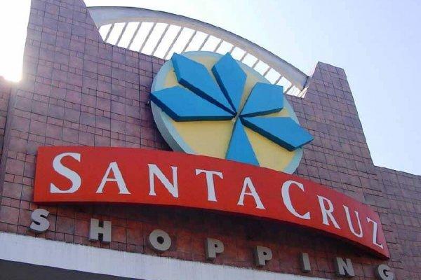 Fachada Shopping Santa Cruz